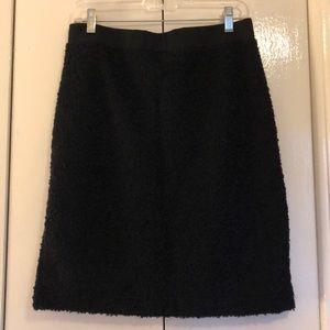 Dresses & Skirts - Size small black boucle skirt